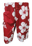 BRONCO HIBISCUS CARGO BOARDSHORTS -swimwear-KINGSIZE BIG & TALL
