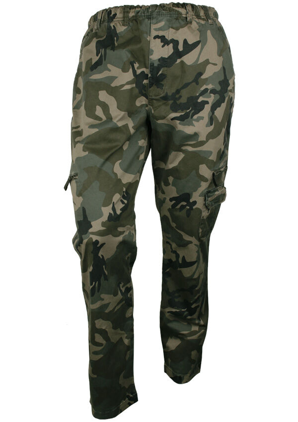 release date enjoy lowest price hot products BRONCO CAMO CARGO TROUSER