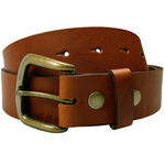 M&C 35MM INTERCHANGEABLE BUCKLE BELT-belts-KINGSIZE BIG & TALL