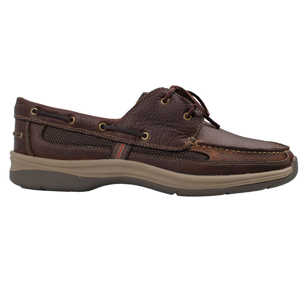 NEW SLATTERS SHACKLE MENS COMFORTABLE LEATHER BOAT SHOES
