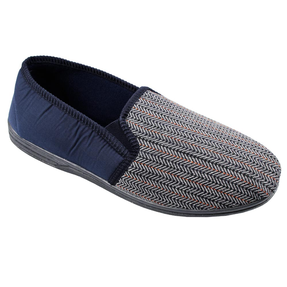 ZEDZ CHARLES SLIPPER VELOUR