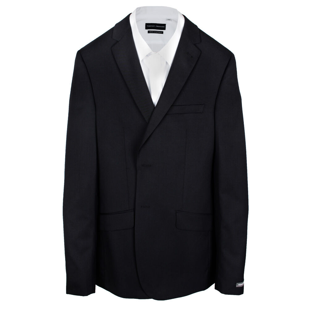 GEOFFREY BEENE TALL PLAIN BLACK SUIT - TALL MENS SUITS | EXTRA ...
