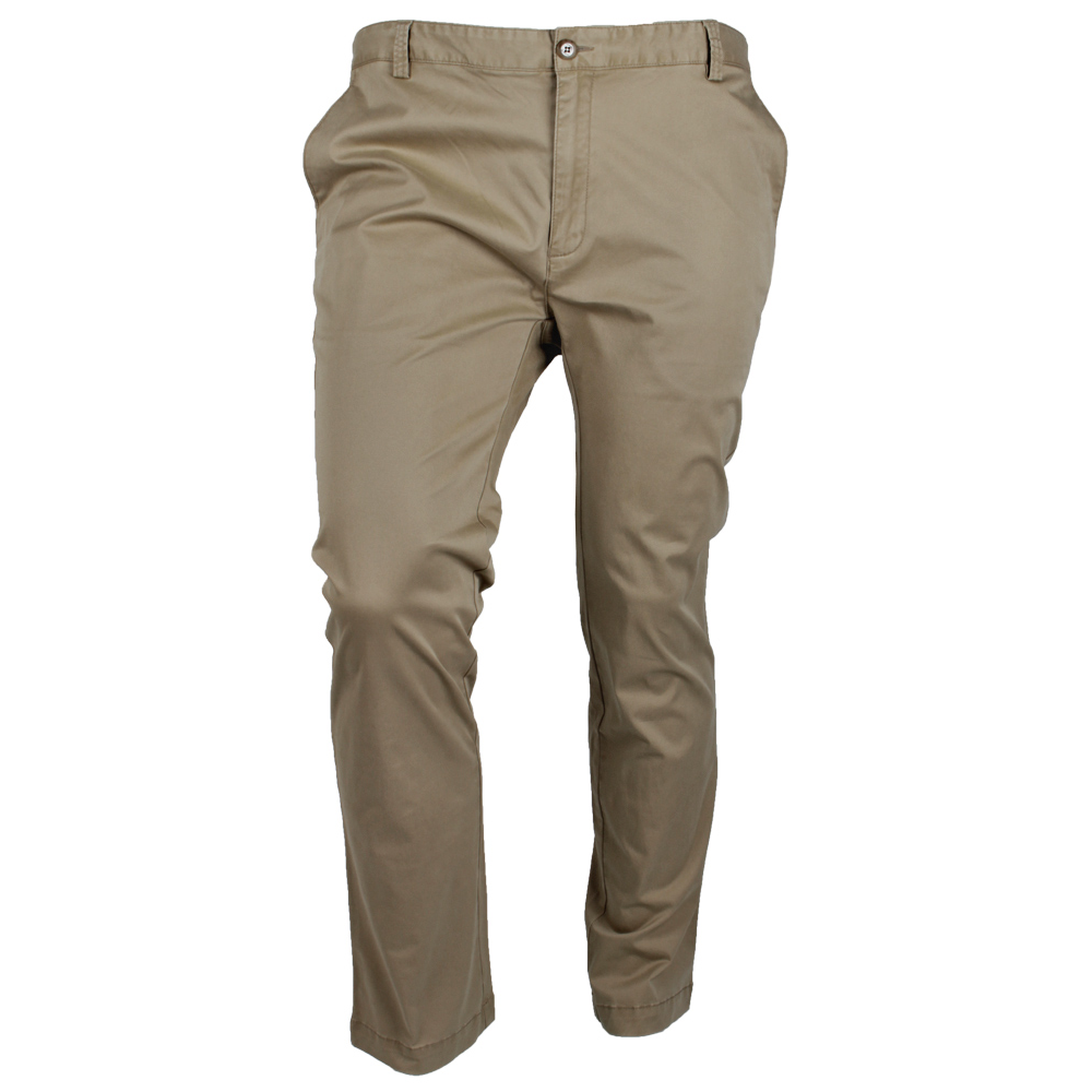 BOB SPEARS STRETCH CHINO TROUSER - LARGE SIZE MENS CASUAL