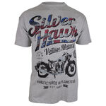 BRONCO SILVER HAWK MOTORBIKE TSHIRT-t-shirts, tanks & singlets-KINGSIZE BIG & TALL
