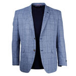 DANIEL HECHTER CHECK SPORTSCOAT-sports coats-KINGSIZE BIG & TALL