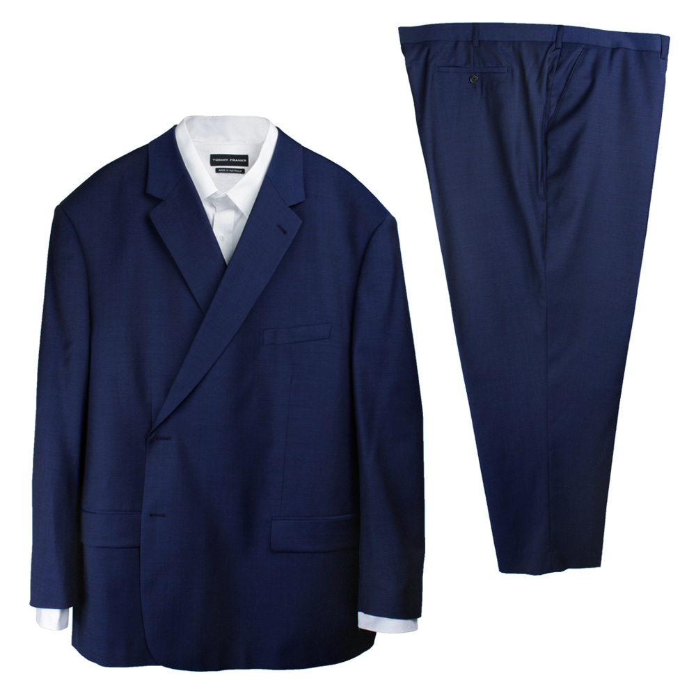 FLAIR MED BLUE SUIT