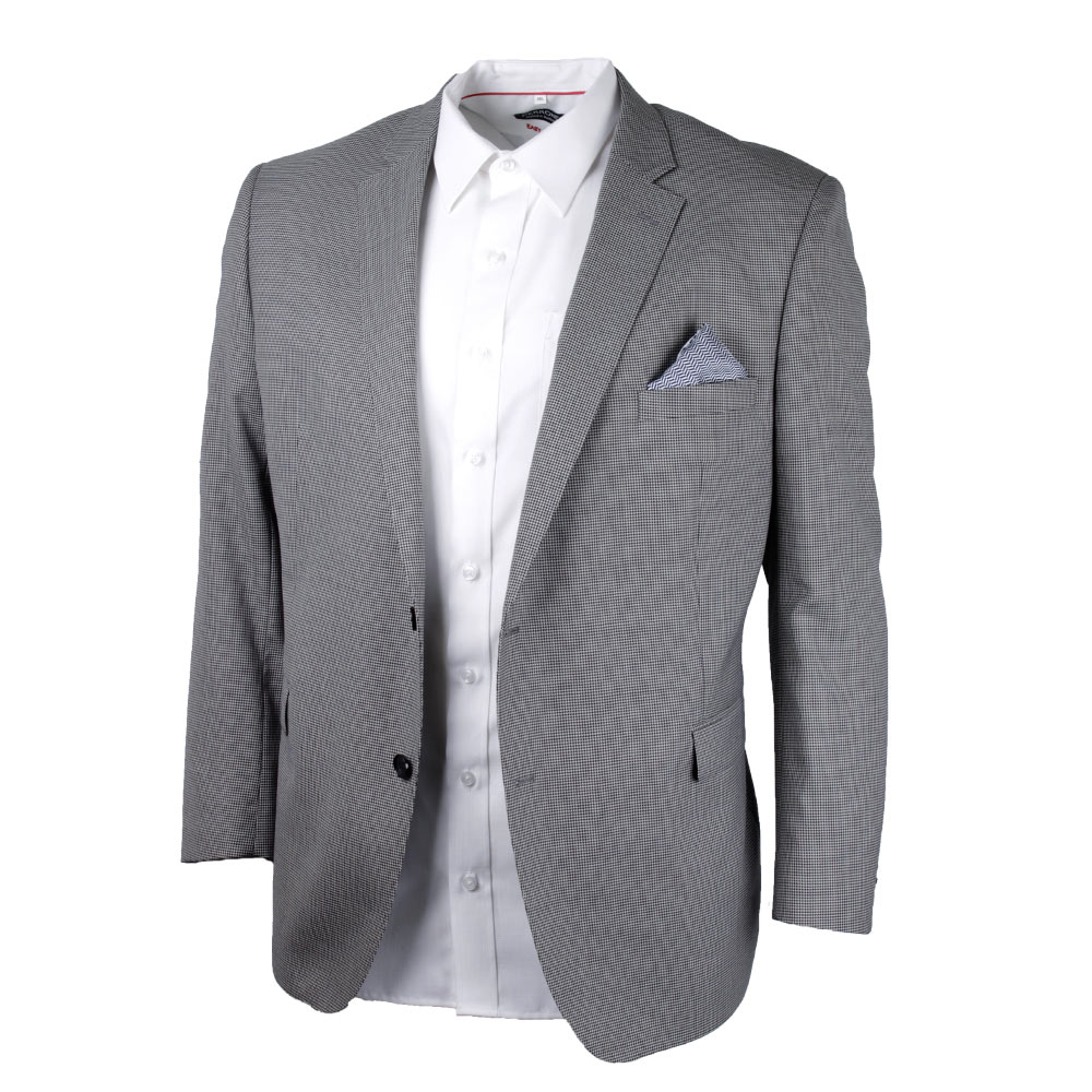 SAVILE ROW HOUNDSTOOTH SPORTSCOAT