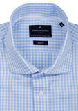BOSTON TALL CHECK C/A L/S SHIRT-tall men-KINGSIZE BIG & TALL