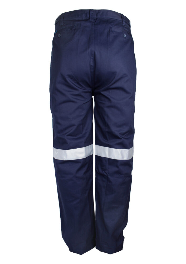 55999727402 PRIME DRILL TROUSER WITH REFLECTIVE TAPE - BIG SIZE MENS TROUSERS ...