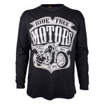BRONCO RIDE FREE L/S TSHIRT-shirts-KINGSIZE BIG & TALL