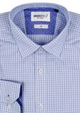 BROOKSFIELD CHECK TALL L/S SHIRT-shirts-KINGSIZE BIG & TALL