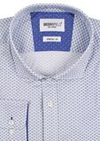 BROOKSFIELD PRINT L/S SHIRT-shirts-KINGSIZE BIG & TALL