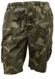 BRONCO E/W CAMO CARGO SHORTS-casual shorts-KINGSIZE BIG & TALL